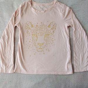 Girls Pink Long Sleeve Shirt